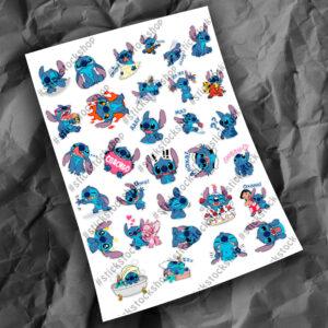 Набор стикеров Stitch Стич